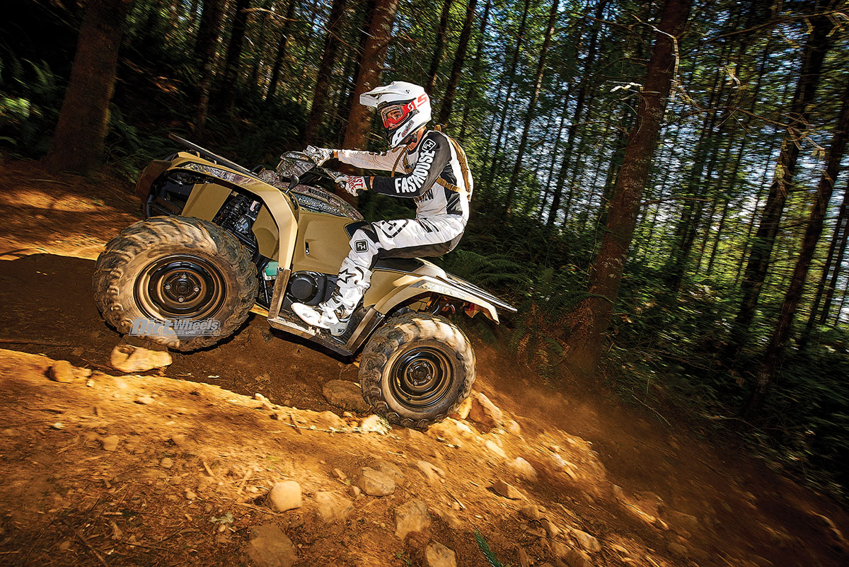 2018 YAMAHA KODIAK 450 | Dirt Wheels Magazine