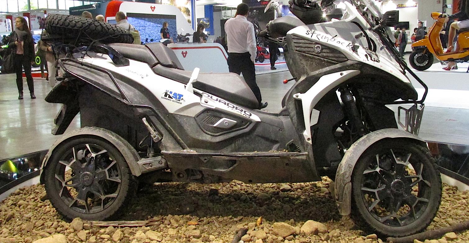wild new off road quad scooter dirt wheels magazine. Black Bedroom Furniture Sets. Home Design Ideas