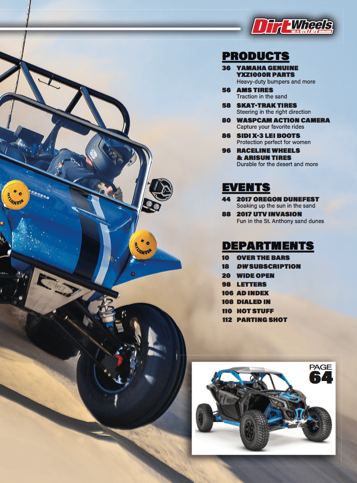 THE NEW DIRT WHEELS IS HERE!   Dirt Wheels Magazine