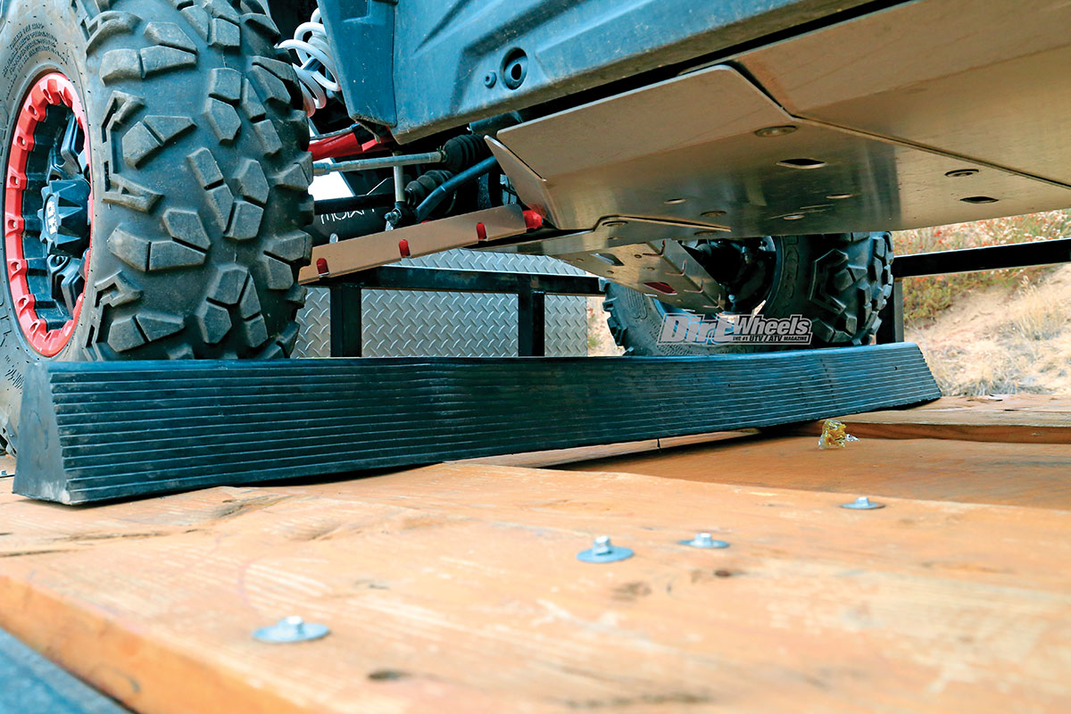 GEAR GRINDER: DRIVE-OVER CHOCK | Dirt Wheels Magazine