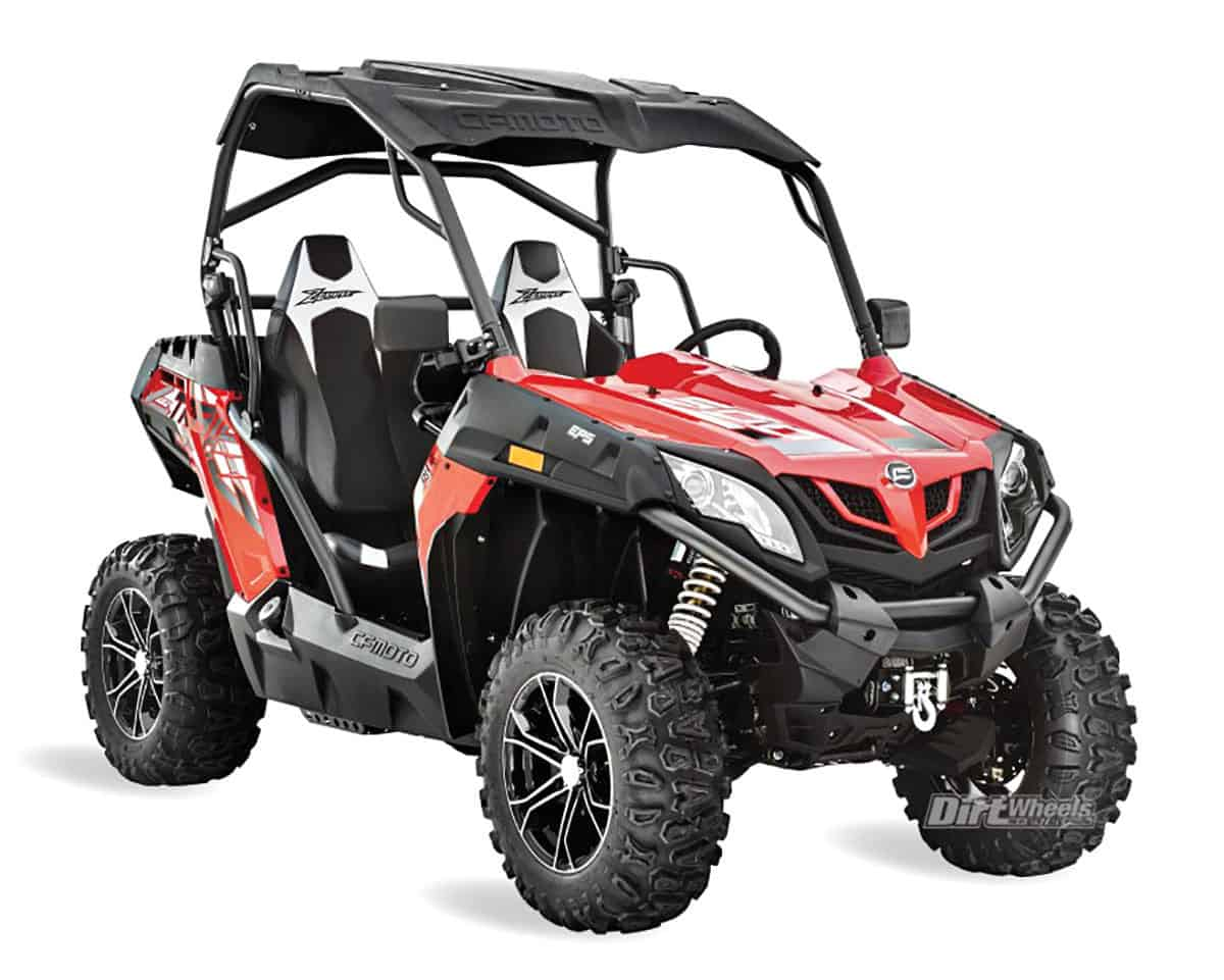 2018 Utv Buyers Guide Dirt Wheels Magazine Cf Moto 500 Wiring Diagram Cfmoto Zforce Trail Eps