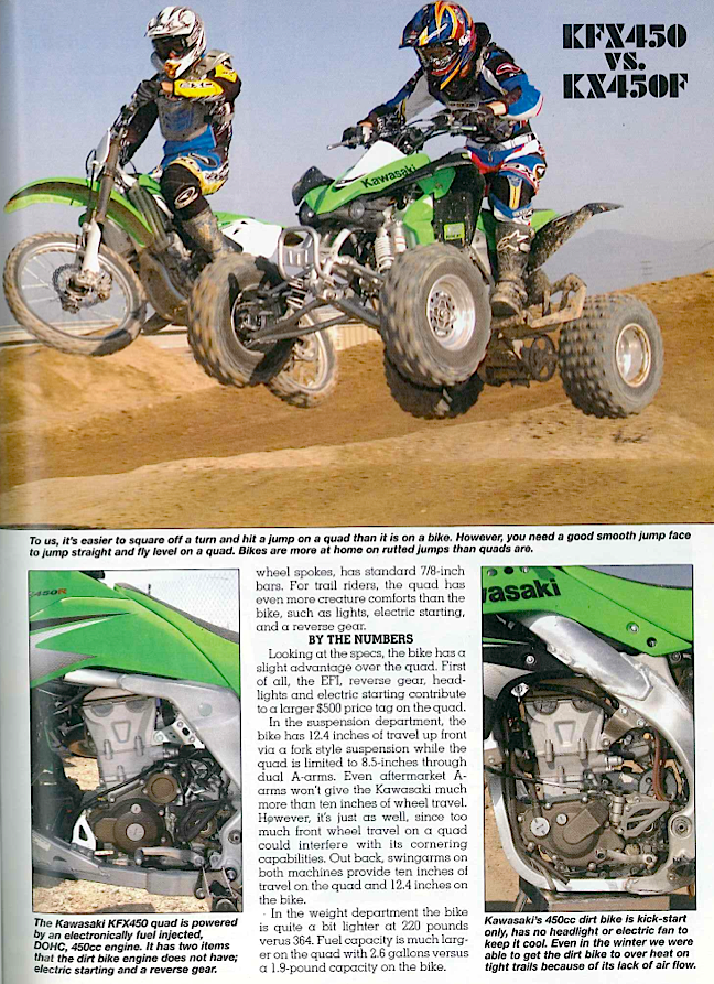 Atv Vs Dirt Bike Which Is Better Dirt Wheels Magazine