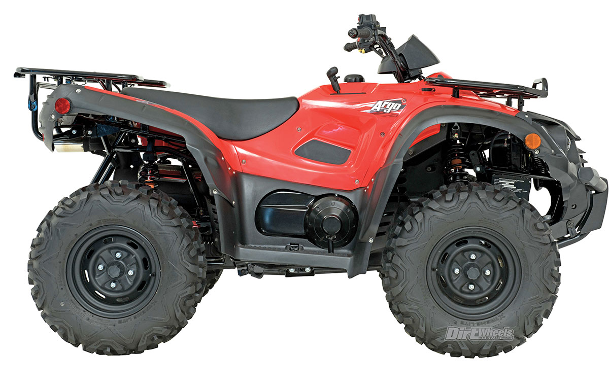 Argo has made amphibious ATVs for decades that have six to eight wheels.  While their machines weren't the fastest and best-handling ATVs on the  block, ...