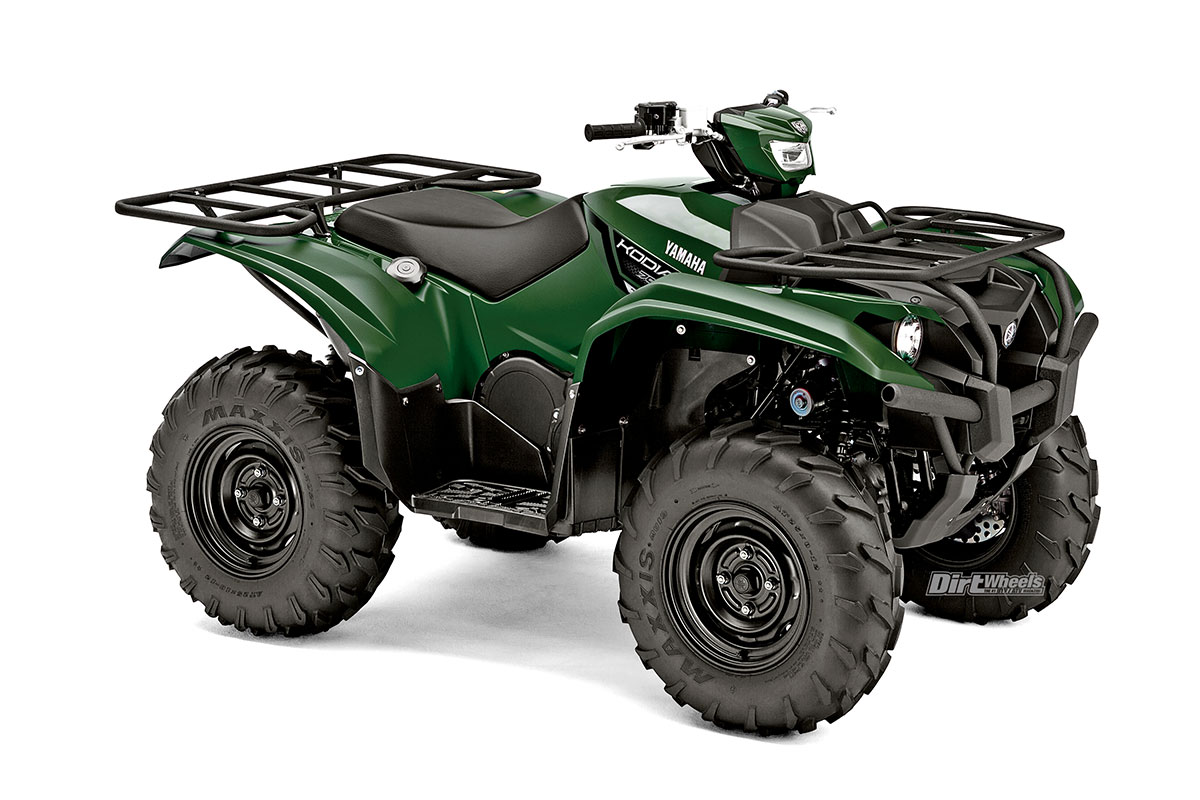 2018 Atv Buyers Guide Dirt Wheels Magazine Yamaha Kodiak 450 Winch Wiring Diagram 700 In 2016 Took Away All Versions Of The Grizzly That Werent A And Introduced It Has Same Engine As