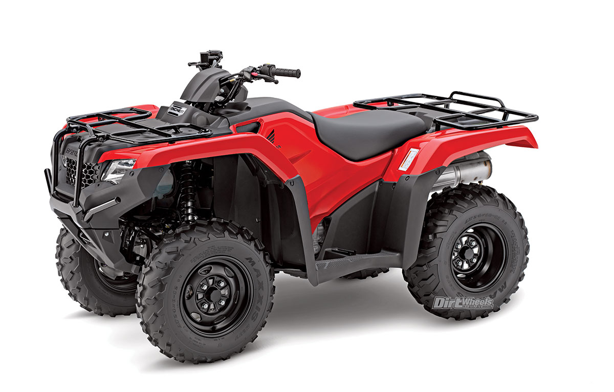 Honda has many variations of this ATV, which includes a 4×4 version, but if  you want a strong engine and only require two-wheel drive, the Rancher is a  ...