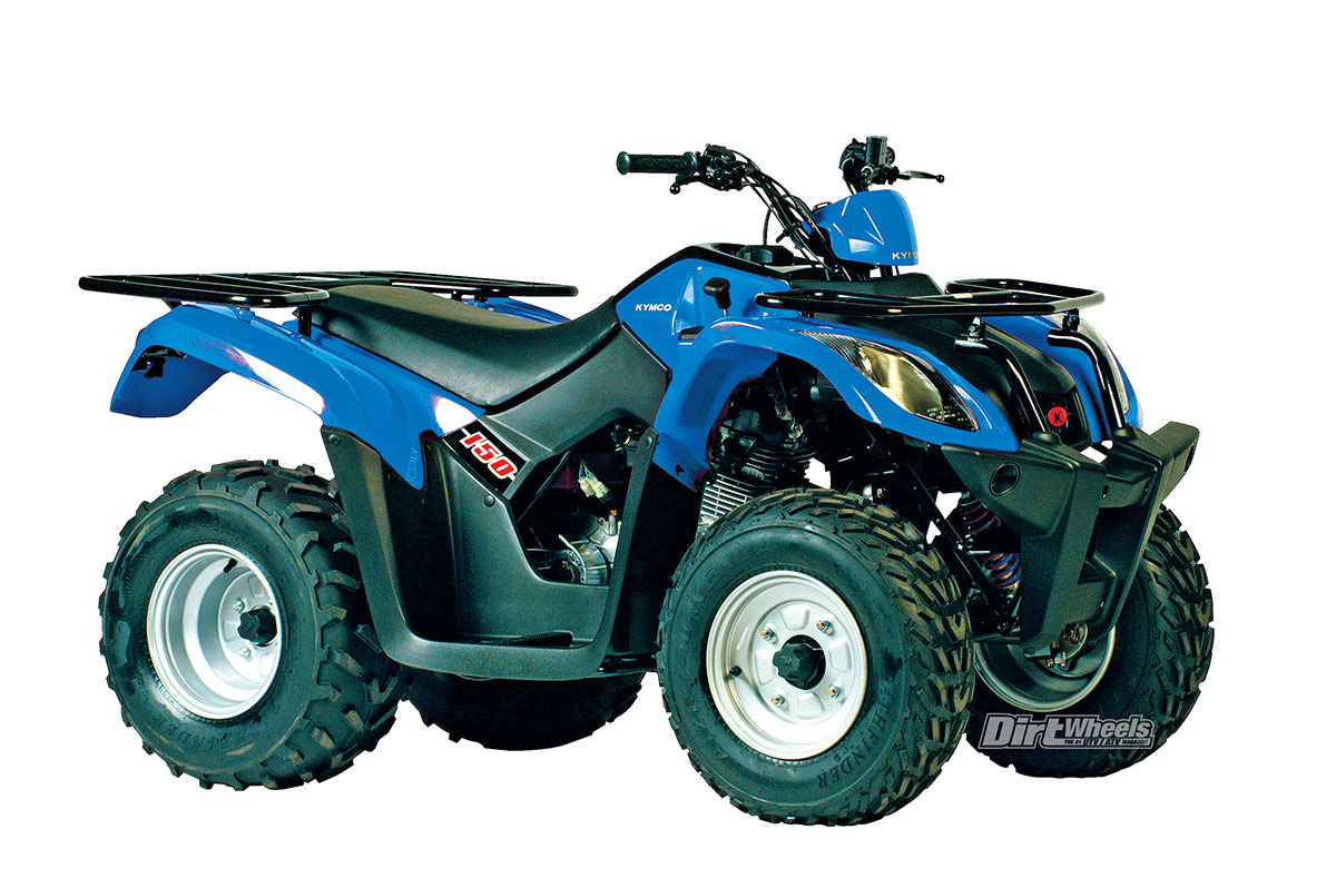 KYMCO MXU 150X The MXU 150 sports a 149cc, air-cooled, four-stroke engine  paired with an automatic CV-style transmission. This rear-wheel-driven  machine has ...