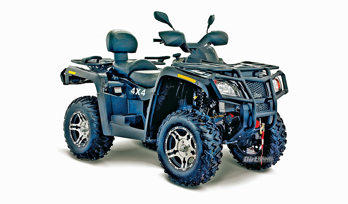 2018 Atv Buyers Guide Dirt Wheels Magazine 200 Honda Winch Wiring Diagram Power Steering Aluminum Alloy And A 3500 Pound Are Standard Features On Both Of Hisuns Tactic Atvs Like The 1000 800 Has An Automatic