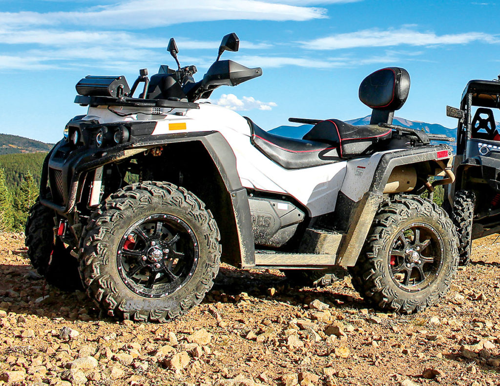 2018 Atv Buyers Guide Dirt Wheels Magazine Yamaha Kodiak 450 Winch Wiring Diagram The Assailant 800 Two Up 44 Is Only In Odes Lineup It Features An Efi Liquid Cooled V Twin Engine Cvt Tech And 4wd With A Diff Lock