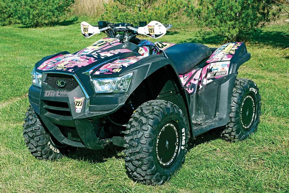ATV RACE TEST: KYMCO'S GNCC MXU 700i | Dirt Wheels Magazine
