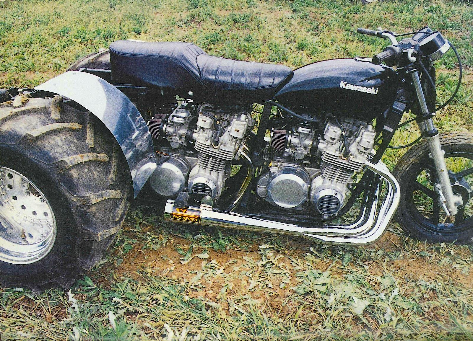 1500cc Kawasaki 3 Wheeler Dirt Wheels Magazine