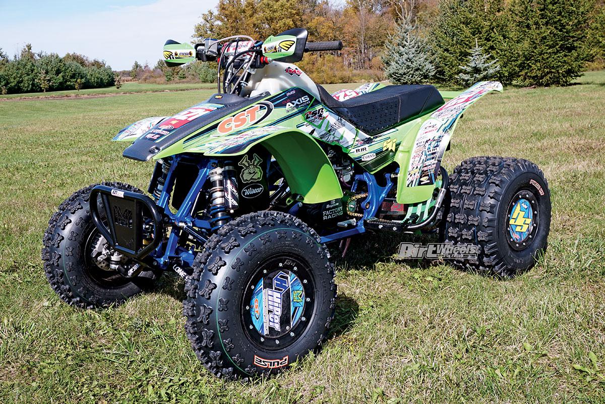 ADAM McGILL'S HONDA TRX250R | Dirt Wheels Magazine