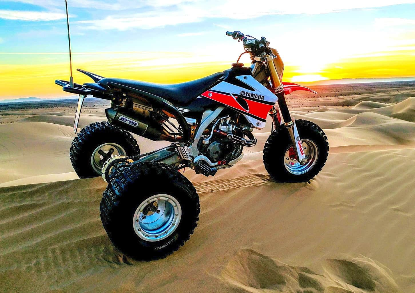 The Basic Formula Is To Take A Yz450f And Convert It 3 Wheeler If Yamaha Did Tri Z For 2018 This What Would Probably Look Like