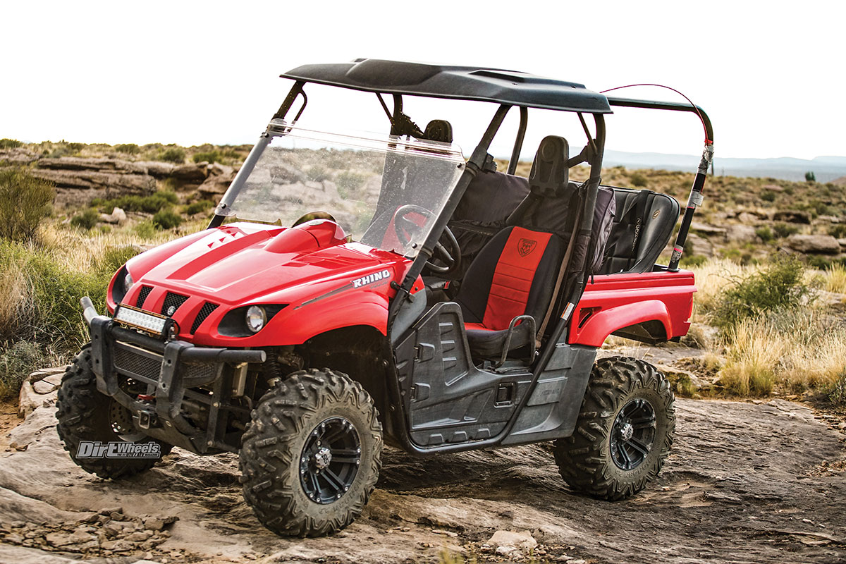 Utv Parts Yamaha Rhino Upgrades Dirt Wheels Magazine