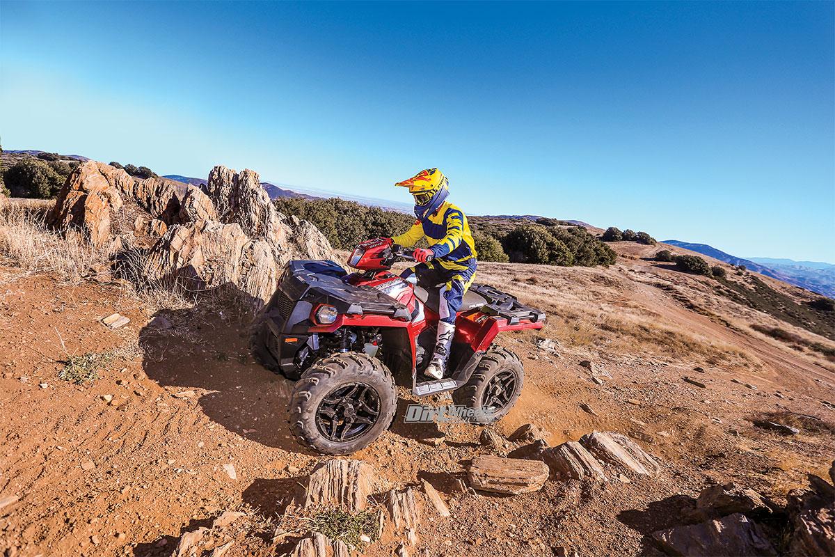 2018 POLARIS SPORTSMAN 570 SP | Dirt Wheels Magazine