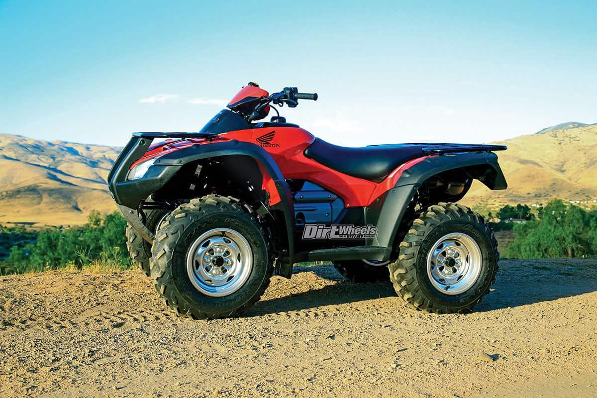 2018 HONDA RINCON 4x4 TEST   Dirt Wheels Magazine