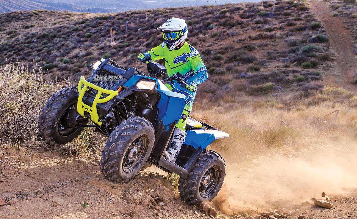 POLARIS SCRAMBLER 850 4x4 | Dirt Wheels Magazine