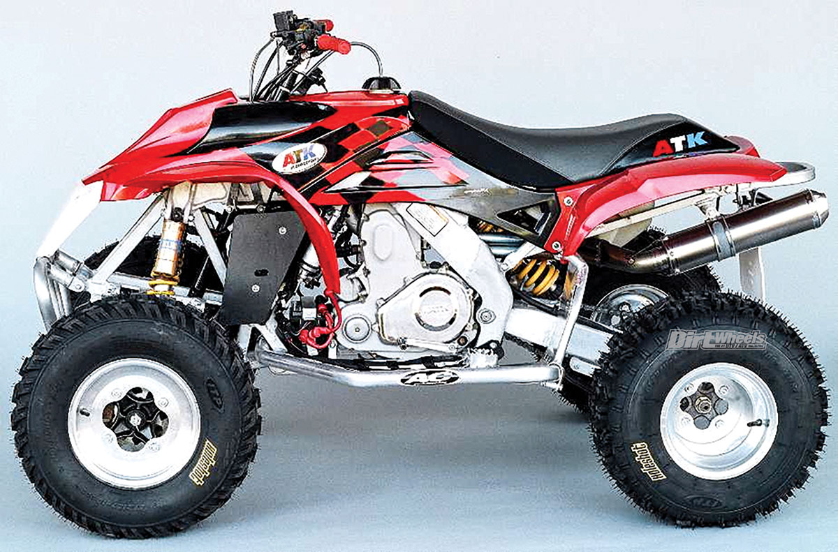 The Cannondale was an American-made quad that had all of the latest  high-tech features incorporated into its design. This is what it looked  like after ATK ...