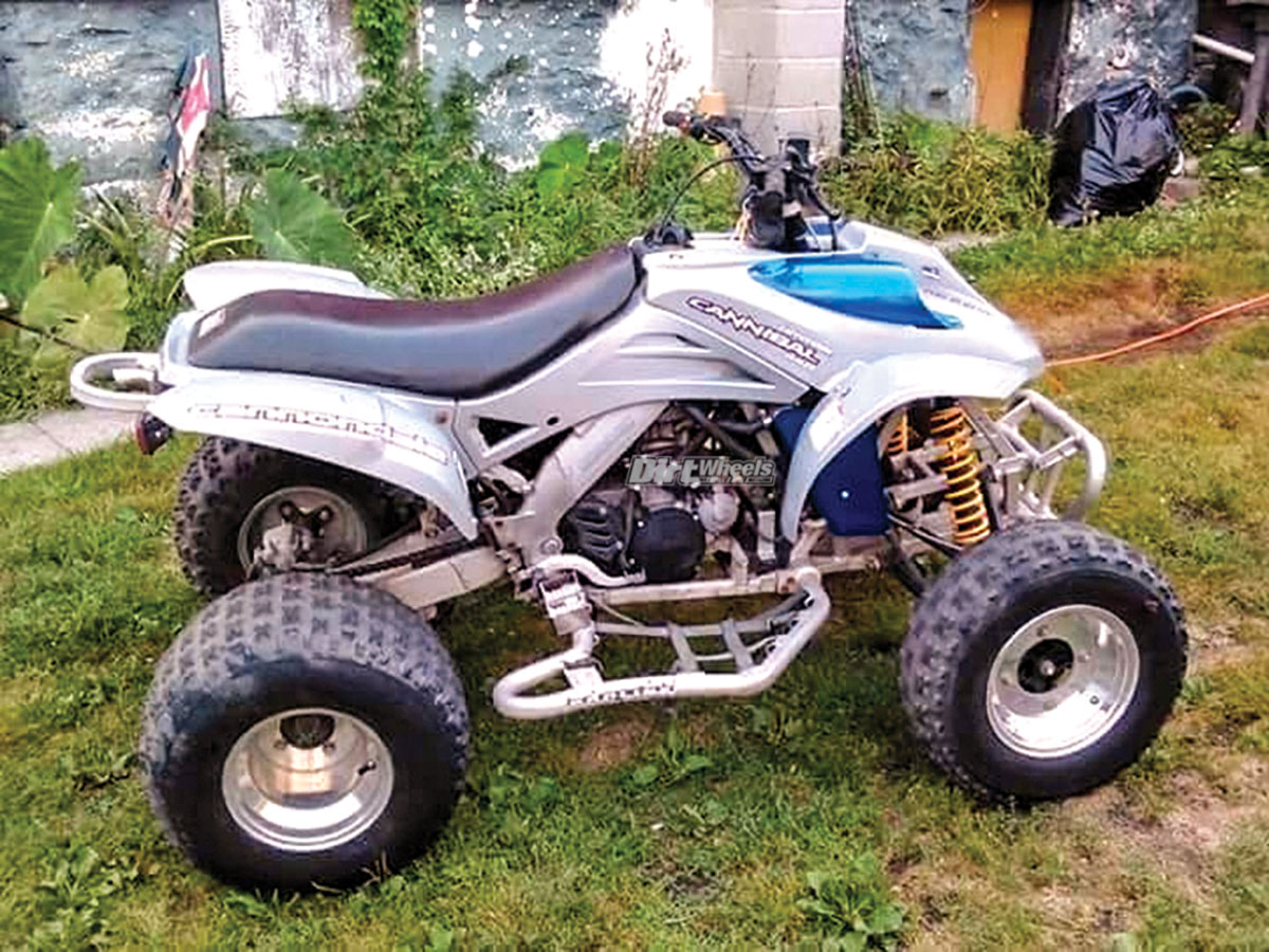 87 2003 Cannondale Atv Motorcycles For Sale 1 If Wiring Schematic Youre Looking To Restore And Hold On A Classic Quad The Would Be Good