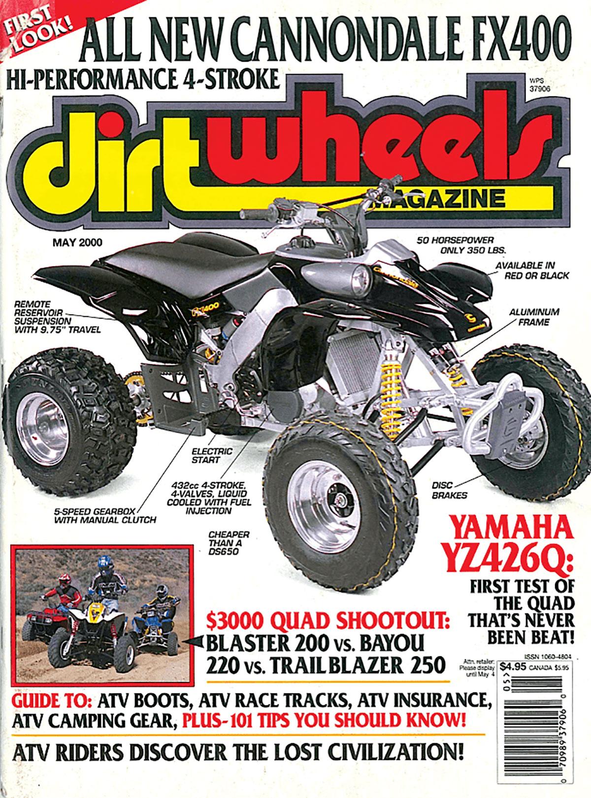 CANNONDALE QUADS | Dirt Wheels Magazine