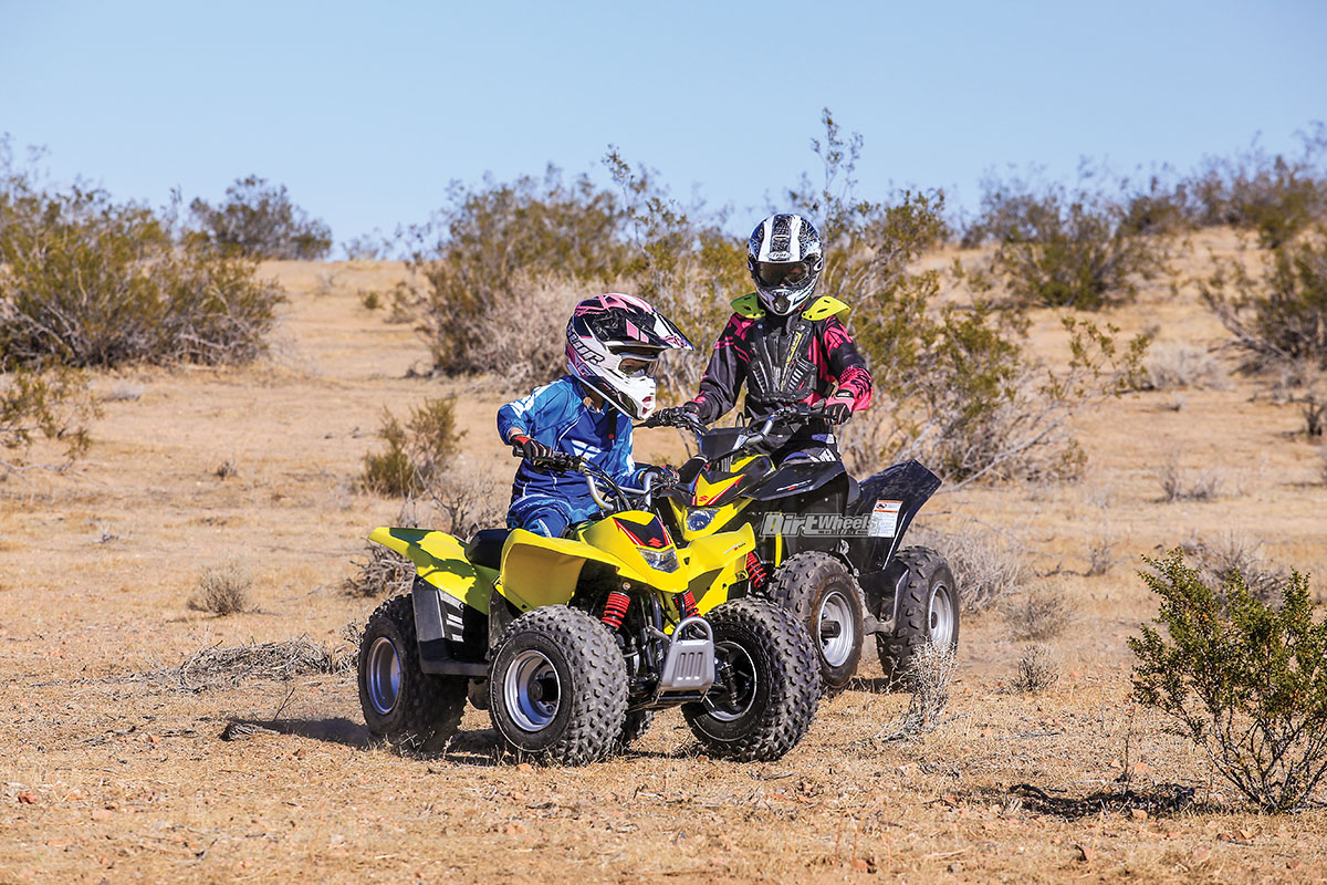 SUZUKI QUADSPORT Z50 & Z90 | Dirt Wheels Magazine