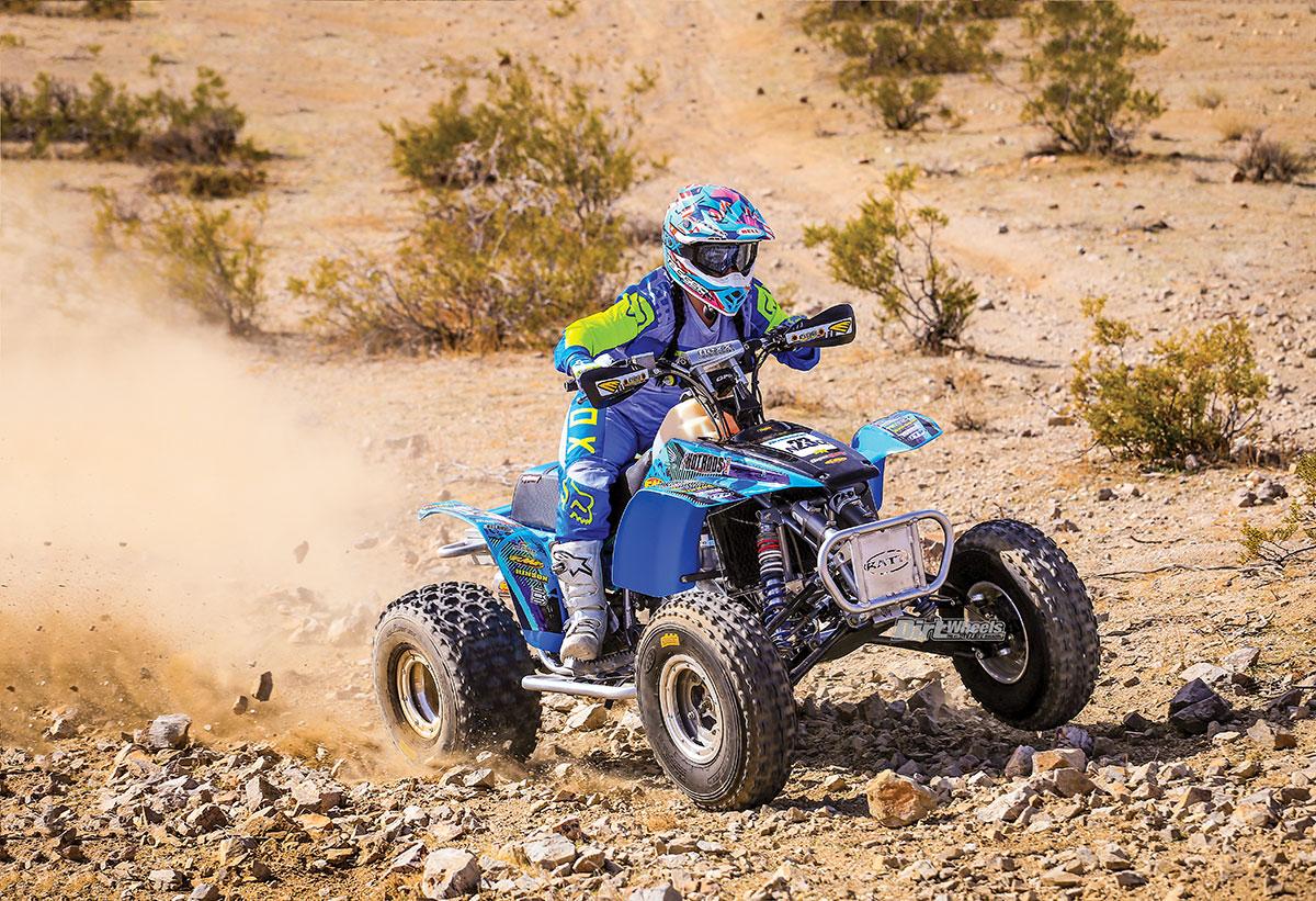 HONDA TRX250R TEST | Dirt Wheels Magazine