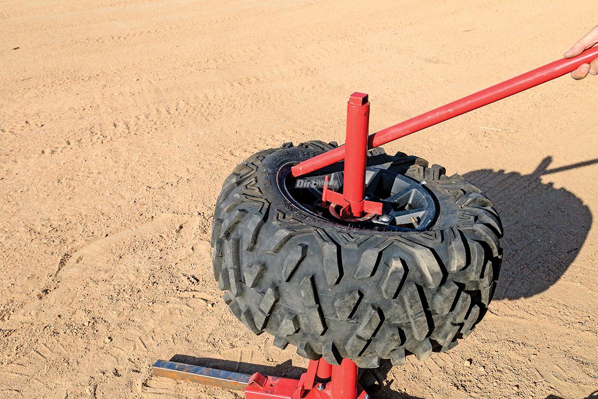 Harbor Freight Manual Tire Changer Dirt Wheels Magazine