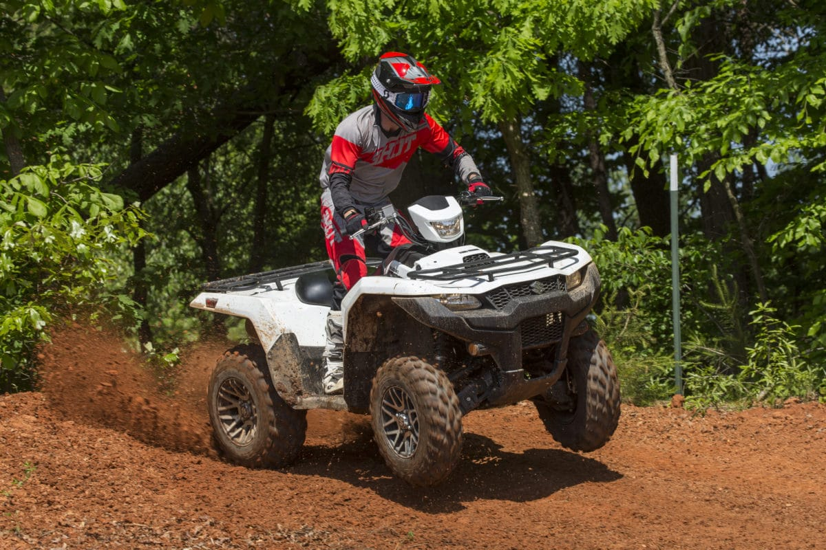 2019 Suzuki Kingquad 500 750axi Ride Review Dirt Wheels Magazine