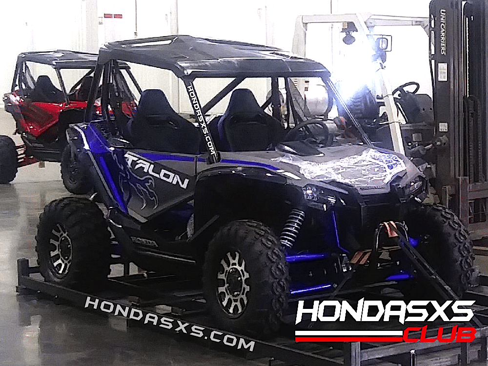 HONDA TALON SPY PHOTOS | Dirt Wheels Magazine