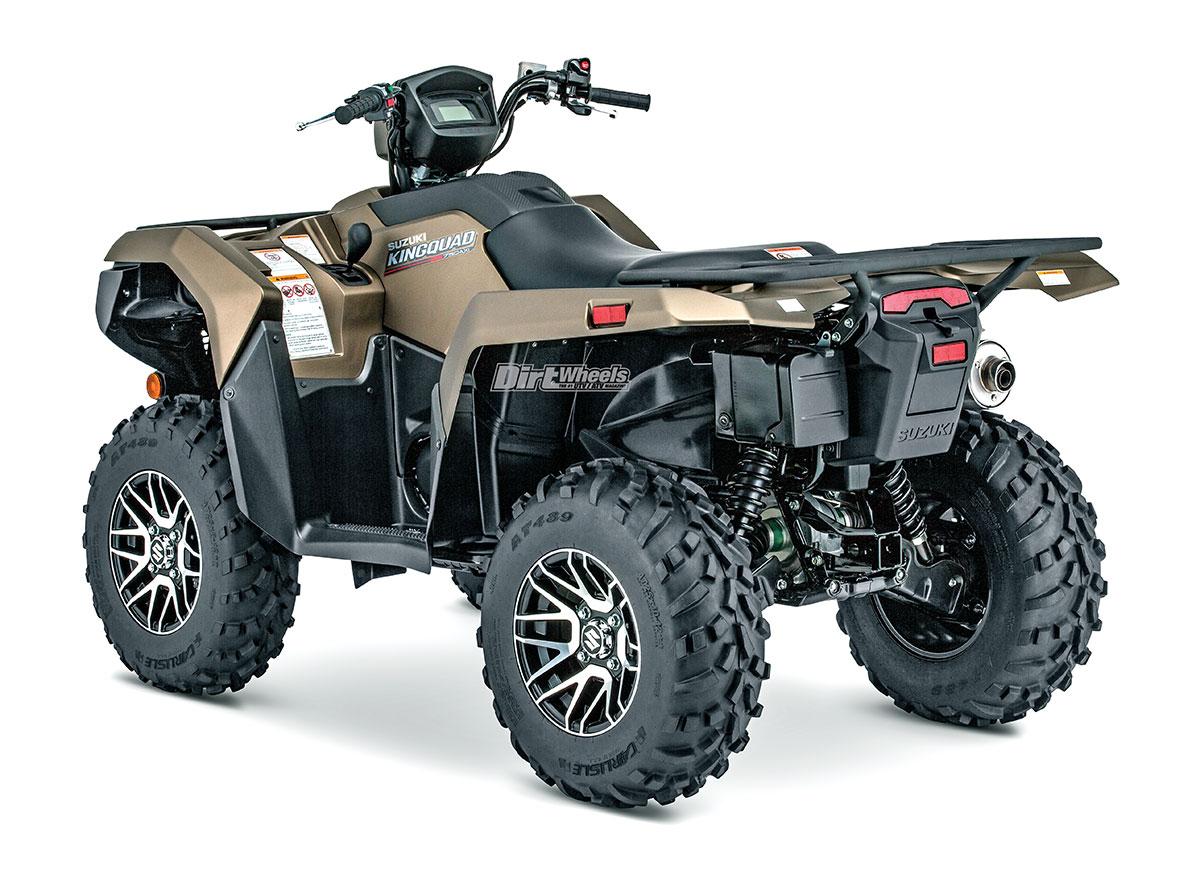 2019 Suzuki Kingquad 750axi Dirt Wheels Magazine