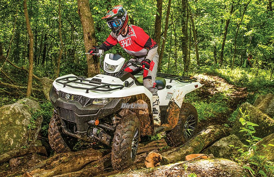 2019 SUZUKI KINGQUAD 750AXi | Dirt Wheels Magazine