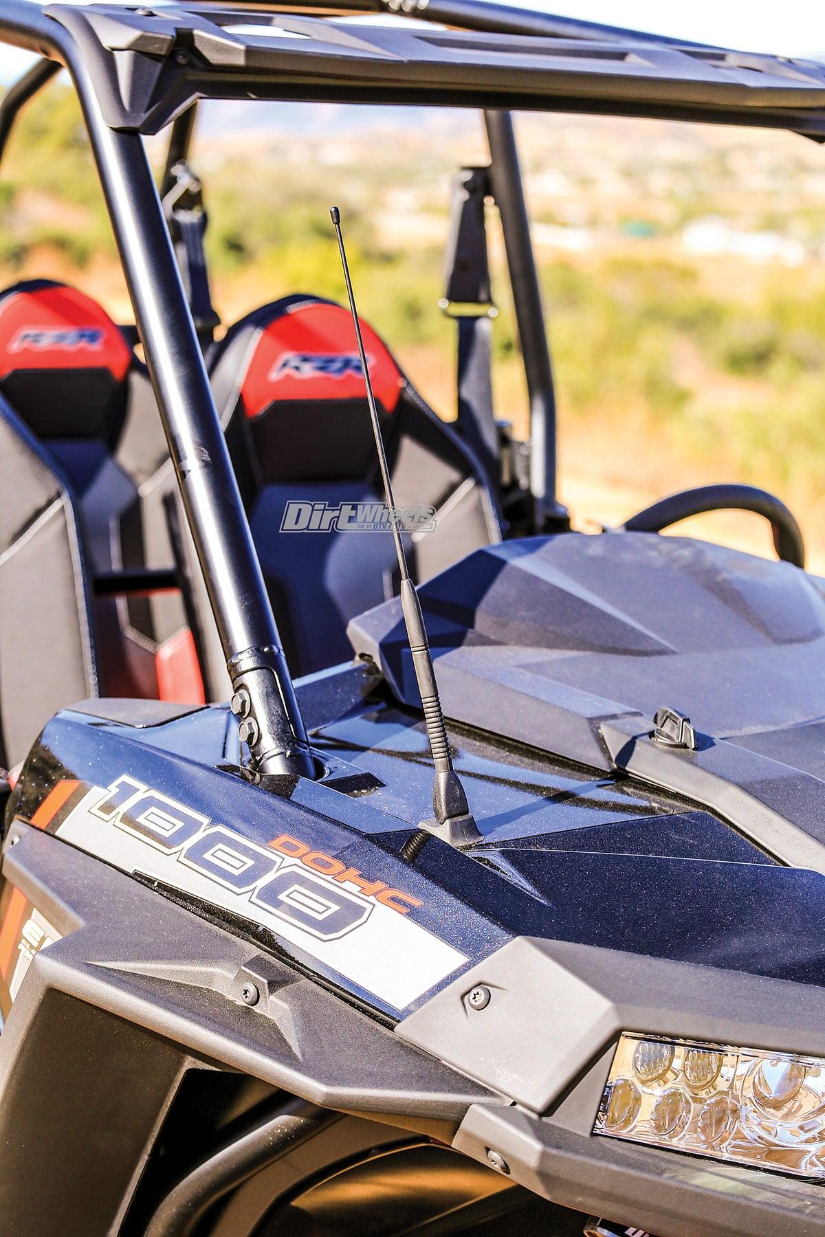 2018 Polaris Rzr Xp 4 1000 Ride Command Edition Dirt