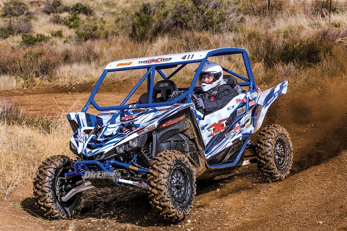 YAMAHA YXZ1000R FOR BACK EAST WOODS RACING | Dirt Wheels