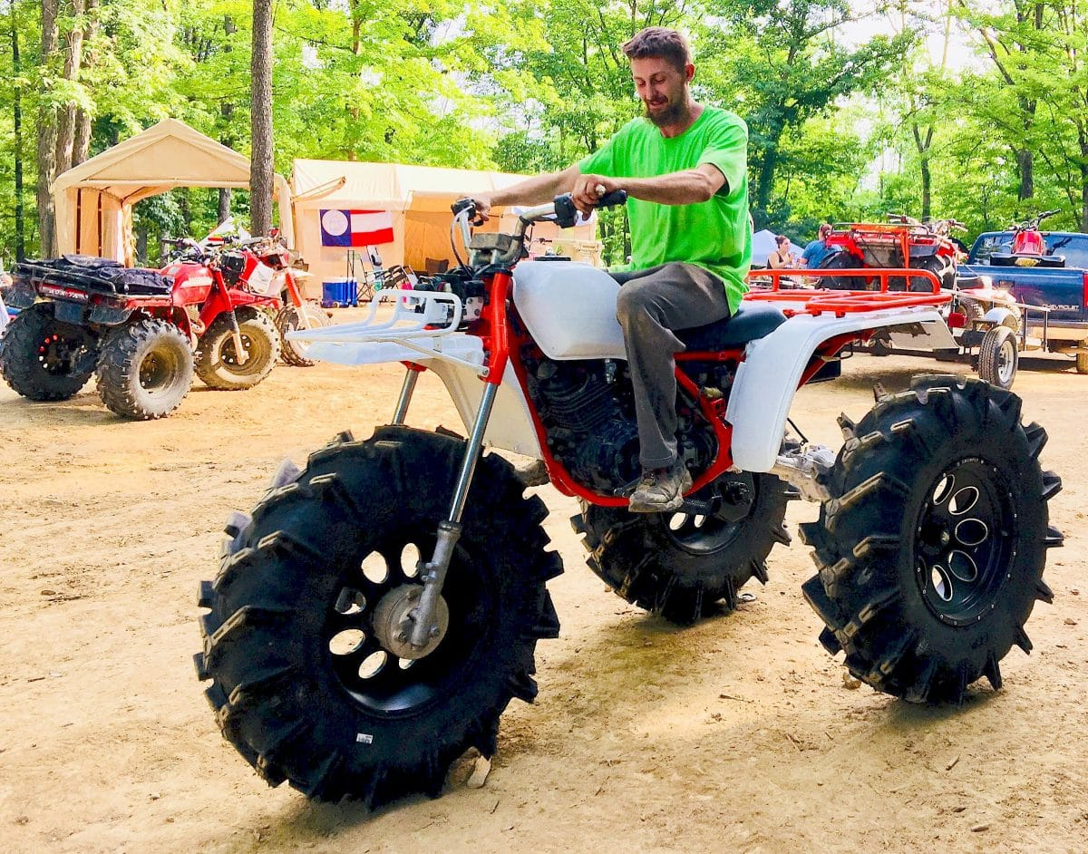 There Never Was A Such Thing As Three Wheel Drive 3 Wheeler So Greg Has To Make Do With Just Two In The Rear However He Says
