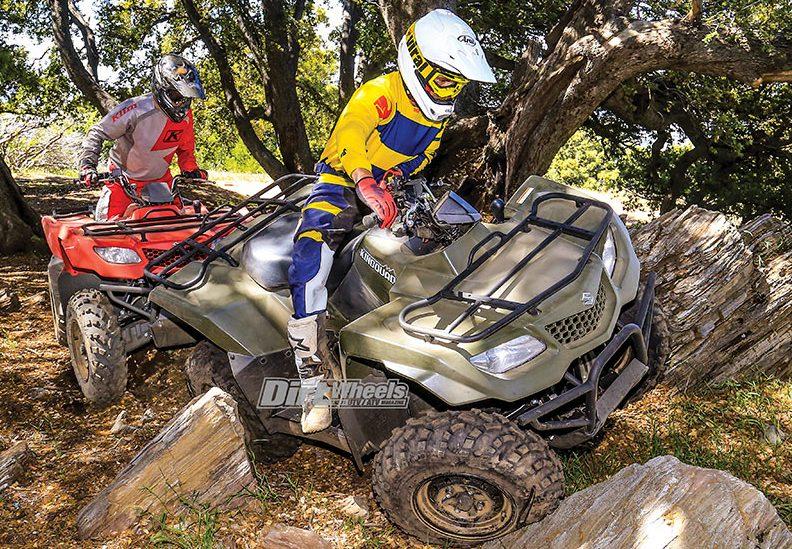 2019 SUZUKI KINGQUAD 400 SHOOTOUT   Dirt Wheels Magazine