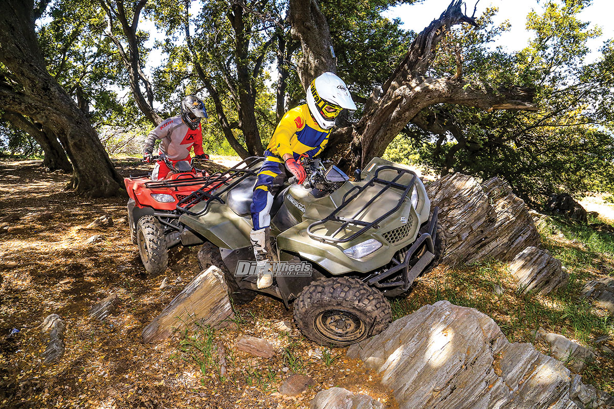 2019 SUZUKI KINGQUAD 400 SHOOTOUT | Dirt Wheels Magazine