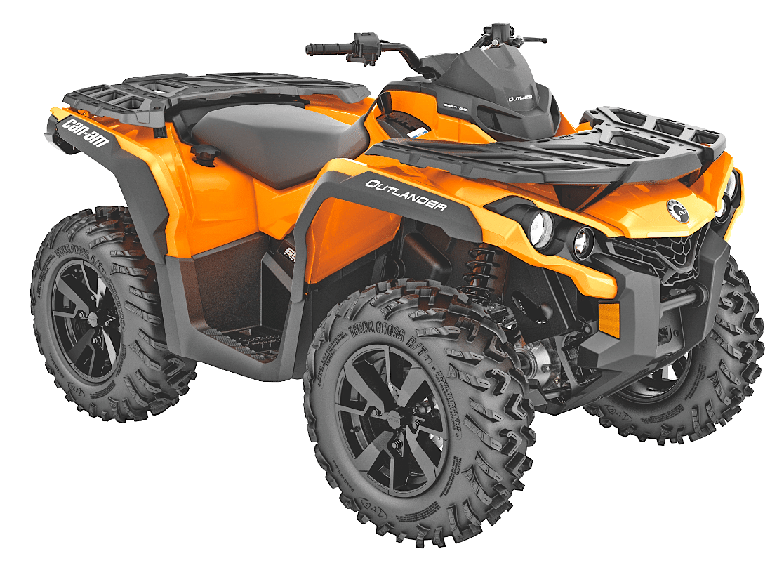 2019 can am outlander 650 dps dirt wheels magazine. Black Bedroom Furniture Sets. Home Design Ideas