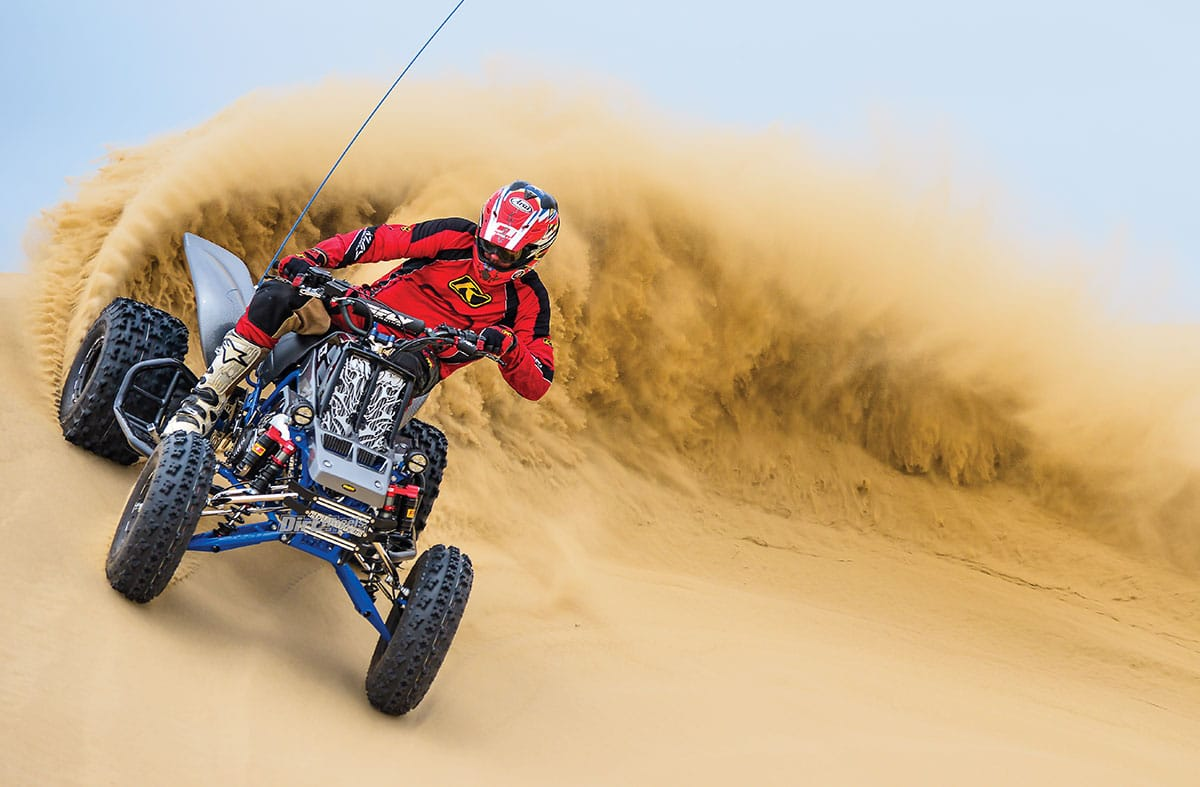 CT RACING 400cc BANSHEE | Dirt Wheels Magazine