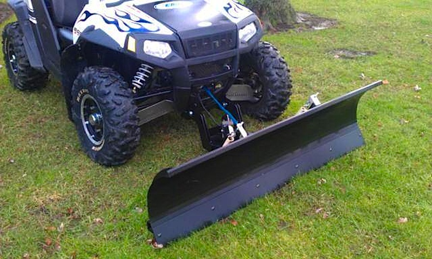 A Snow Plow For Your Atv Or Utv Dirt Wheels Magazine