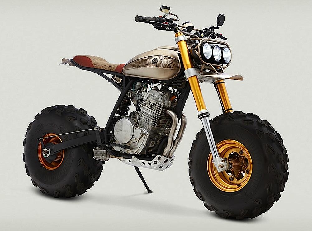 honda fat cat  dirt wheels magazine