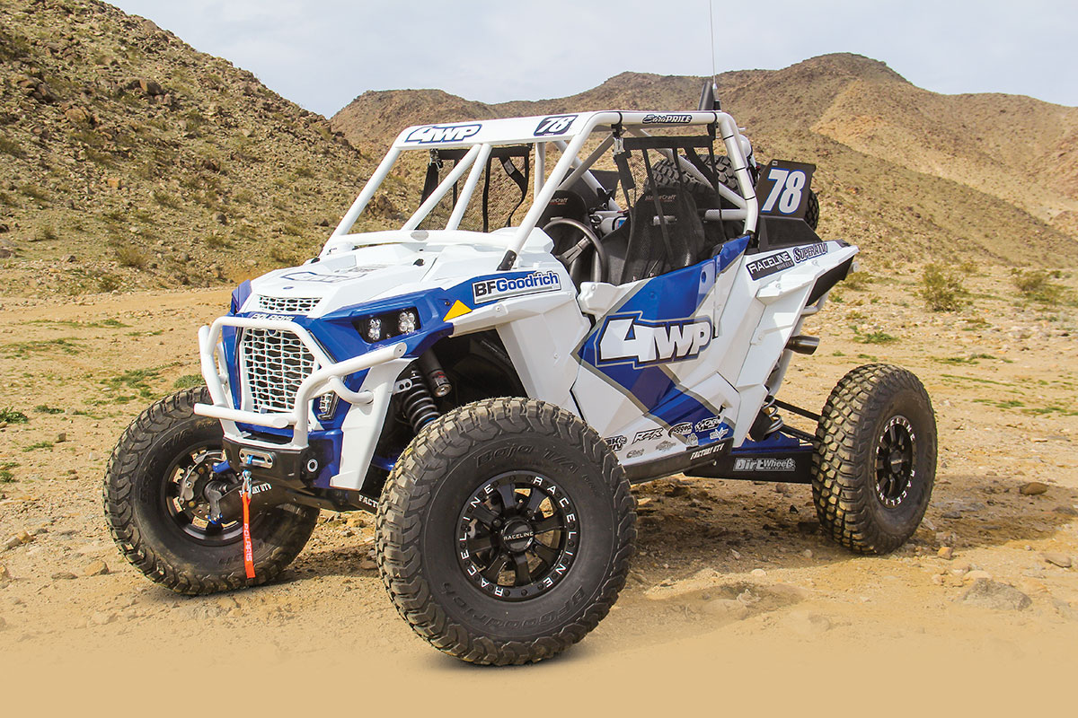 RZR BUILT FOR BIG ROCKS   Dirt Wheels Magazine