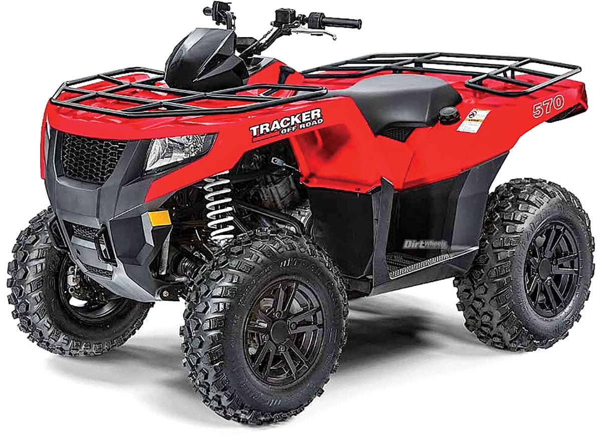 Fourwheelers For Sale >> Tracker Off Road Atvs Utvs Dirt Wheels Magazine