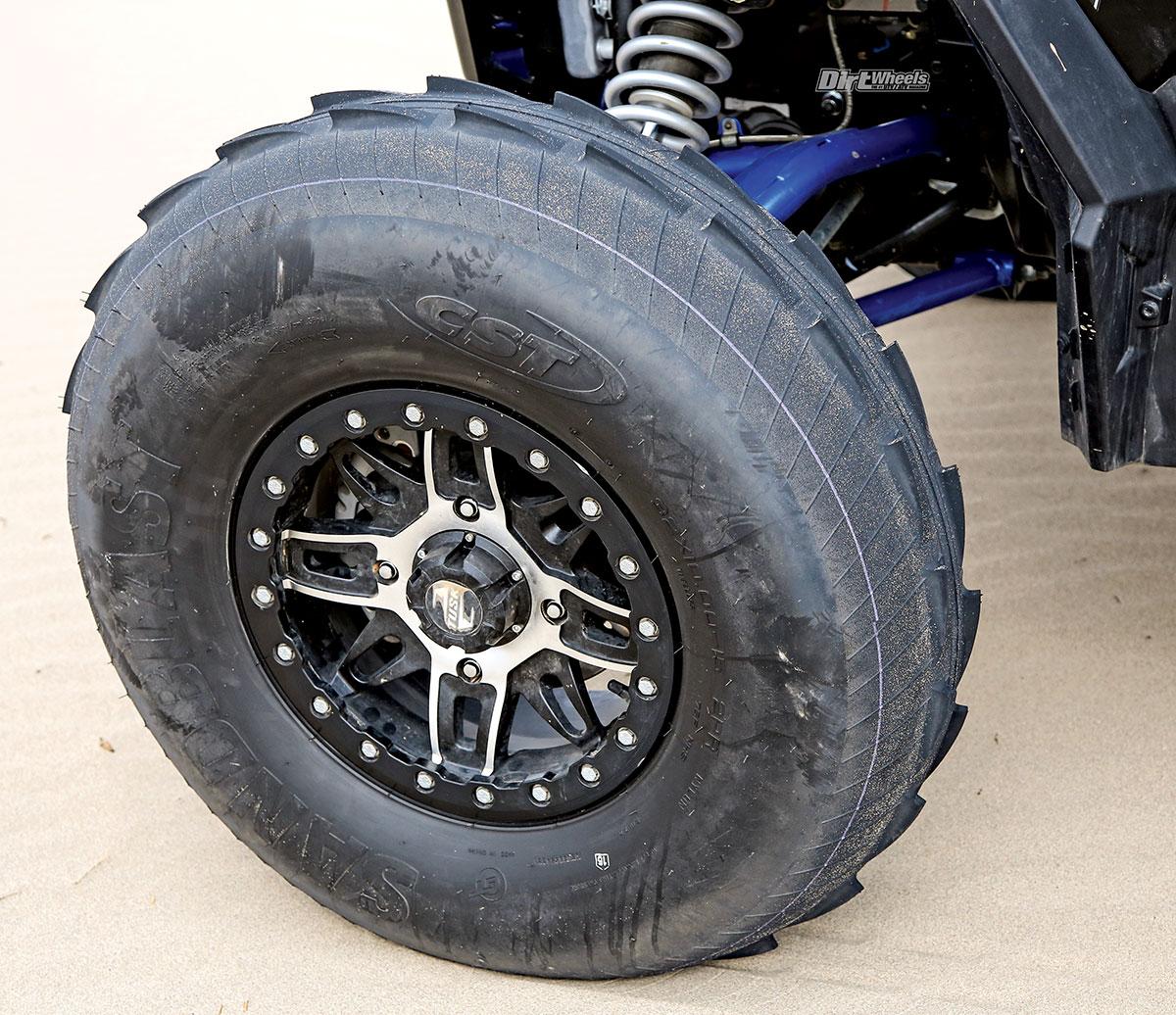 Rear // 28x12-14 CST Sandblast Tire